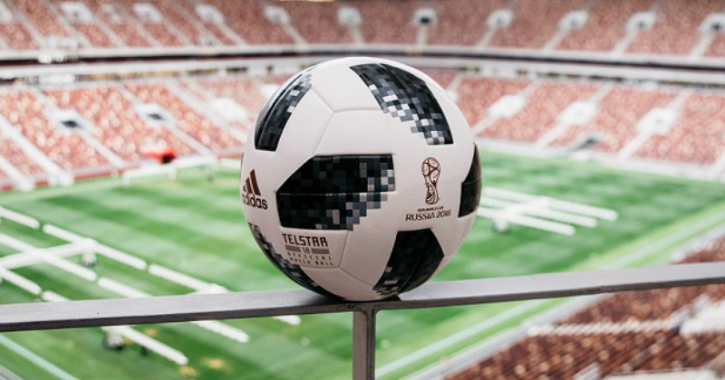 Adidas's New 2018 World Cup Football